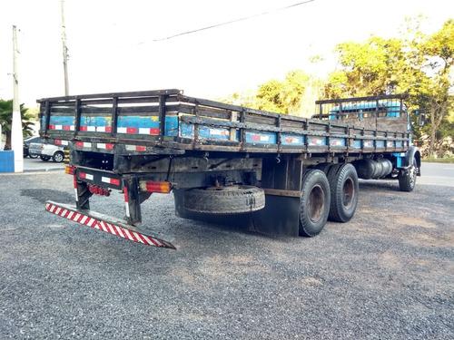 mb 1113 6x2 carroceria freios a ar fs caminhoes