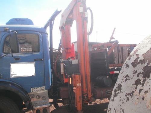 mb 1113 77 truck munck argos carroceria de ferro