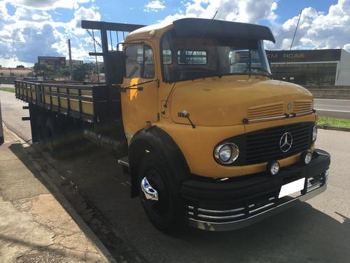 mb 1113 amarelo 1974 carroceria