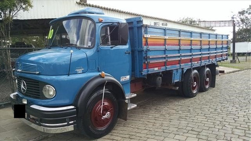 mb 1113 ano 80 truck carroceria