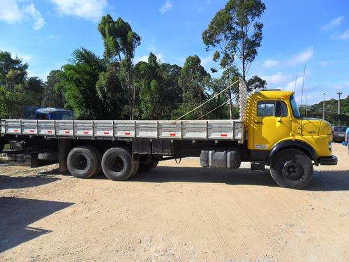 mb 1113 carroceria truck ano 76 em ótimo estado