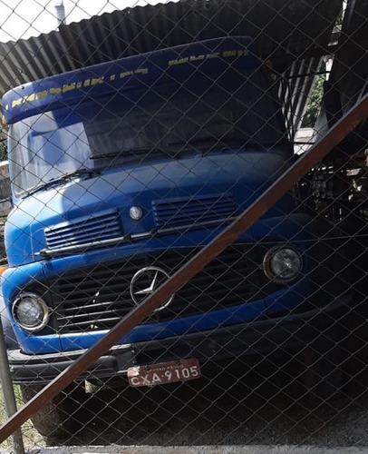 mb 1113   truck  carroceria  gabine alta  ano  1970