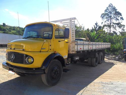 mb 1113 truck turbinado ano 76 em ótimo estado pronto