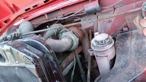 mb 1113 turbo baú 11 metros - aceito trocas