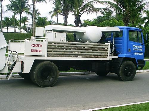 mb 1113/85 bomba de concreto - putz 1406 / 09 ent + parcelas