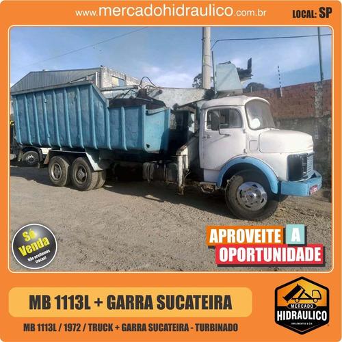mb 1113l / 1972 - garra sucateira