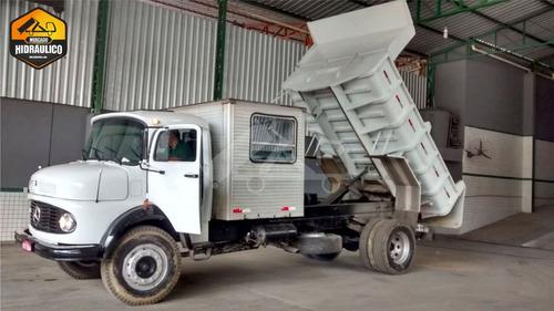 mb 1113l / 1980 - caçamba basculante 5m³