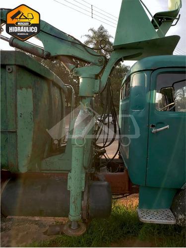 mb 1113la / 1973 - garra sucateira - hima 4 unhas