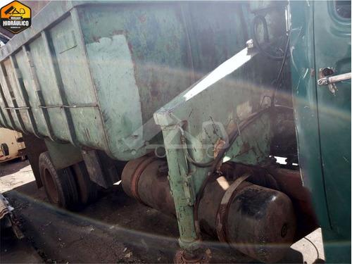 mb 1113la / 1973 - munck hima e caçamba 15m³