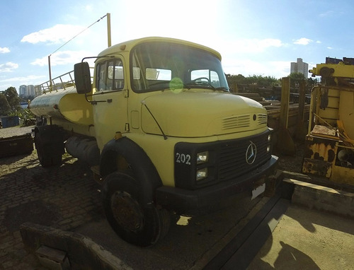 mb 1313 / 1985 - tanque pipa 4x4