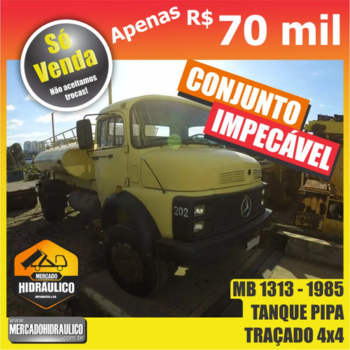 mb 1313 / 1985 - tanque pipa