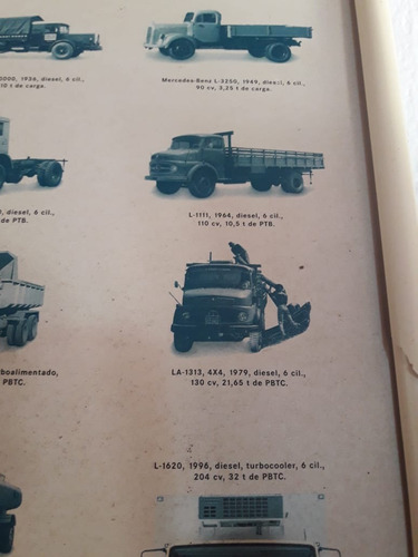 mb 1313 traçado 4x4, 1980, no chassi, único dono