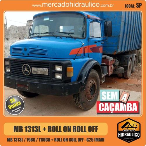 mb 1313l / 1980 - roll on roll off g25 imavi