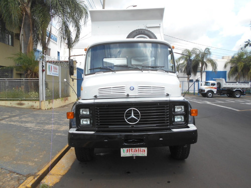 mb 1317 1986 basculante único dono itália caminhões