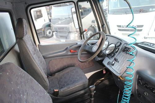 mb 1318 4x2  2010  luna 12 3h/3m com nr12  cab aux.
