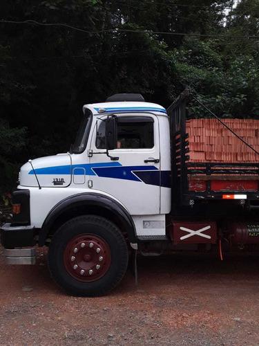 mb 1318 truck  carroceria 1988 original