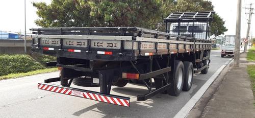 mb 1318 truck carroceria de madeira