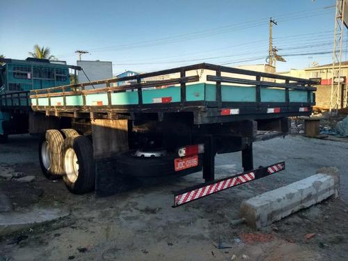 mb 1418 6x2 carroceria 7,5 metros