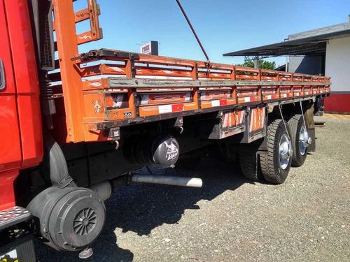 mb 1418 6x2 carroceria turbinado