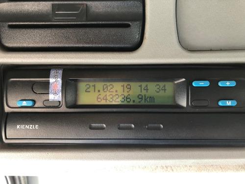 mb 1418 atego baú 7 mts