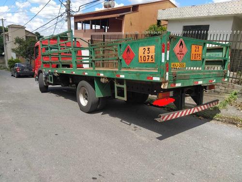 mb 1418 carroceria de gas  ou chassi