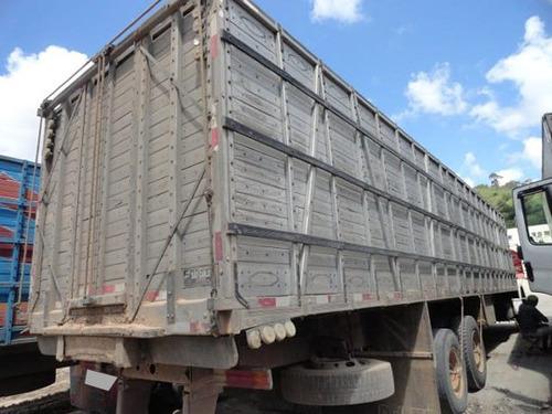 mb 1418 truck 6x2 ano 1995 com gaiola de 11 metros.