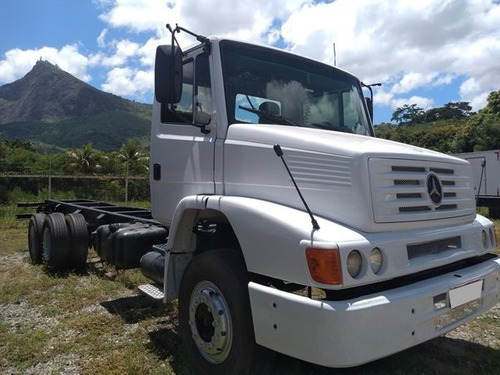 mb 1418 truck 6x2 ano 2001 (no chassi).