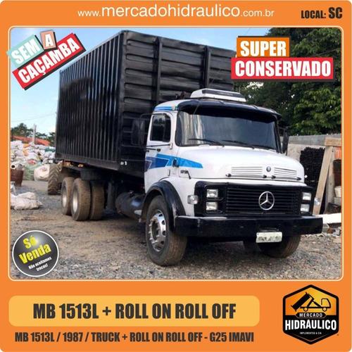 mb 1513l / 1987 - roll on roll off g25 imavi