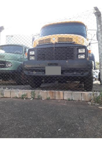 mb 1516 tração 6x2 - reduzido - carroceria nova