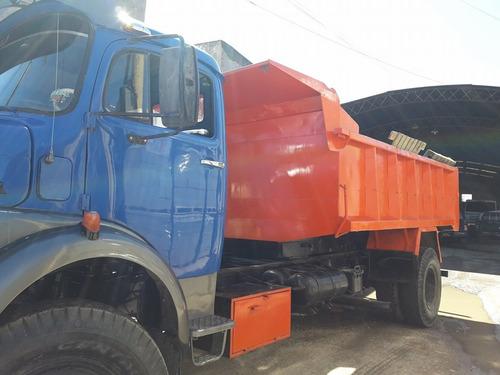 mb 1517 volcador 9 mts .... camion puro !!!!