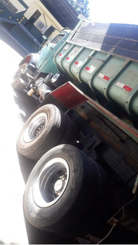 mb 1520  truck basculante   ano 1990  motor cunmis