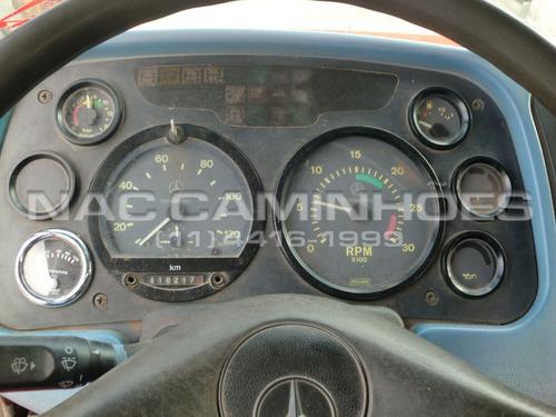 mb 1620 ano 1998/1998 carroceria de madeira 8,00 x 2,50