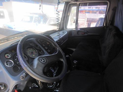 mb 1620 ano 2001 truck carroceria turbo direção hidráulica