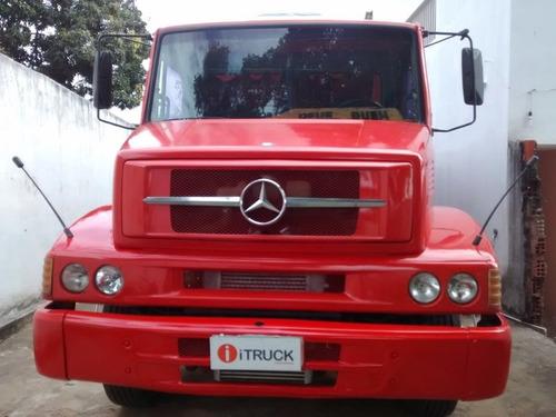 mb 1620 truck ano 2005 + caçamba rossetti 10m ano 2010 = vw.