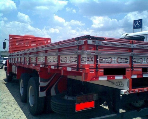mb 1620 truck carroceria ano 2010