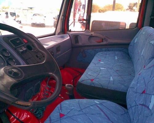 mb 1620 truck carroceria ano 2012