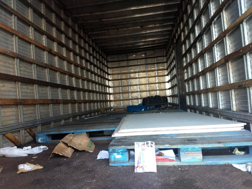 mb 1620/06 azul truck com baú