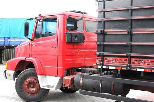 mb 1621 1992 carroceria grade alta 7 metros = ford mercedes