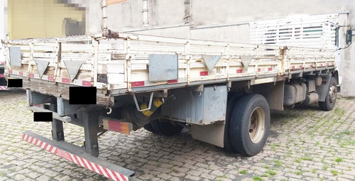 mb 1718 - 09/09 - toco, carroceria de madeira, bem cuidado *