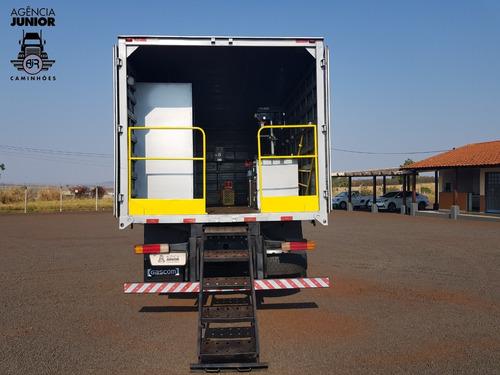 mb 1718 ano 2012 baú oficina gascom / ótimo estado geral.