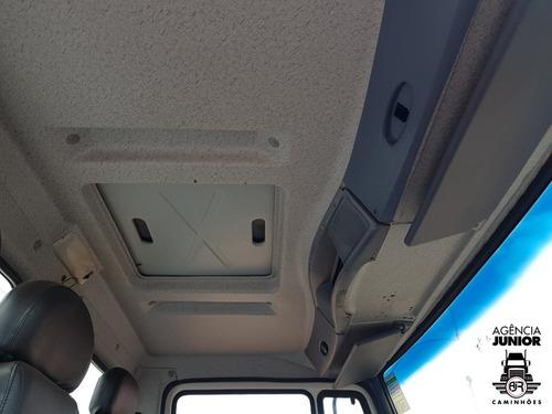 mb 1718 ano 2012 baú oficina gascom revisado e com garantia.