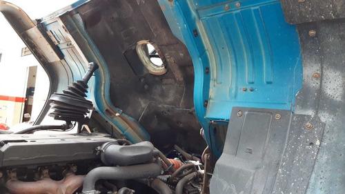 mb 1718 toco, 2009, baú de alumínio 7m, motor 0km!