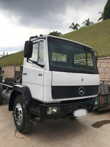 mb 1718 truck no chassis