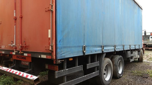 mb 1728 truck 6x2 ano 2004 semi leito baú sider 8 m. =vw.