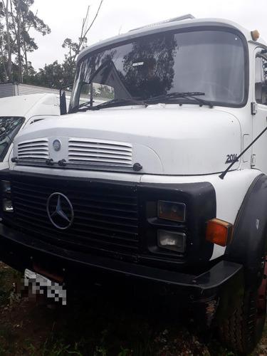 mb  2014 truck carroceria. turbo ano 1989