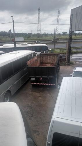 mb 2220 basculante, traçado, turbinado 1988 - tekinha ônibus