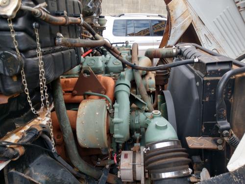 mb 2325 6x4 traçado todo original com carroceria trabalhando