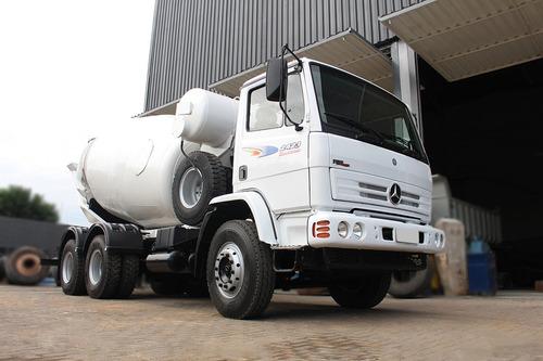 mb 2423 6x4 2009 - betoneira 8m rjo mix = convicta