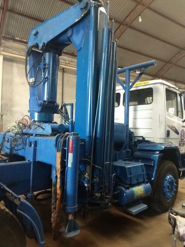 mb 2428-cavalo mecânico  munck capacidade 15 ton