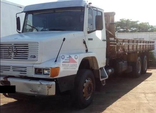 mb 2635 6x4 - 97/97 - carroceria de madeira